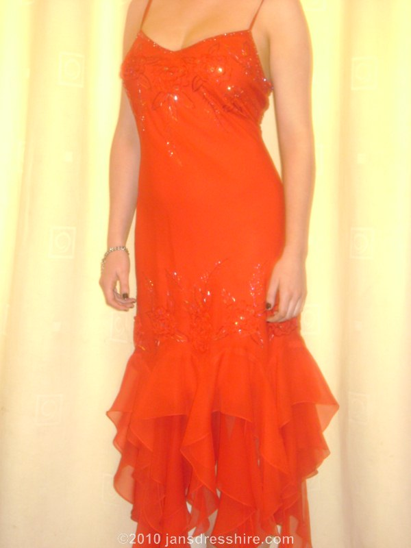Red Dress - Size 14 - 53JO